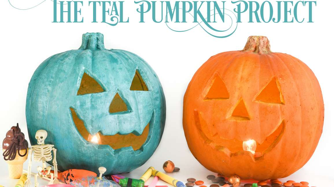 The Teal Pumpkin Project is Creating Safe and Inclusive Traditions